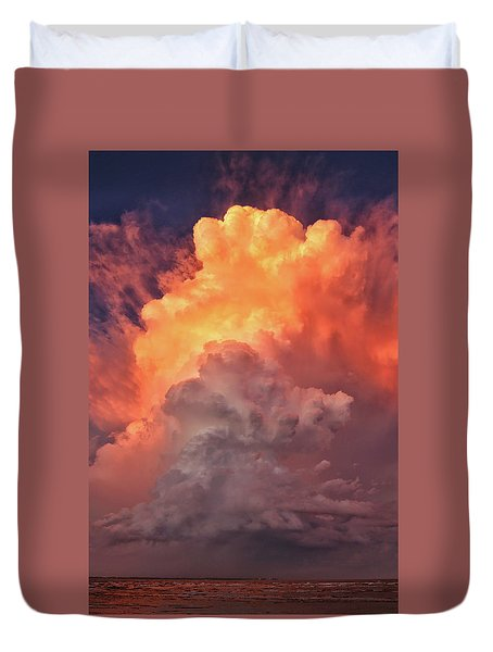 Epic Storm Clouds Duvet Cover