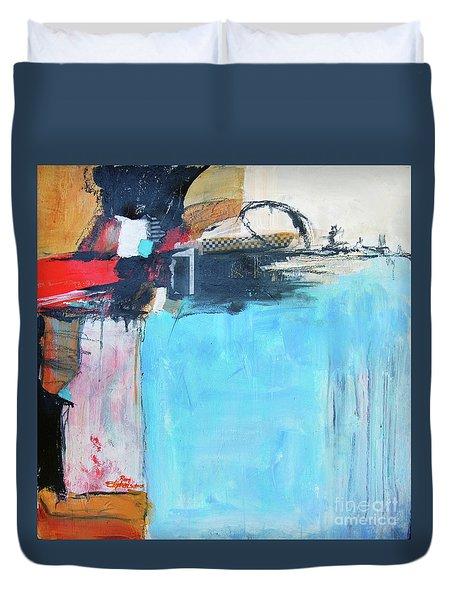 Equalibrium Duvet Cover by Ron Stephens