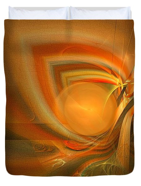 Equilibrium - Abstract Art Duvet Cover