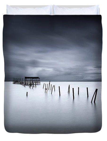 Equilibrium Duvet Cover by Jorge Maia
