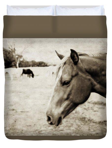 Equine Guardian Duvet Cover