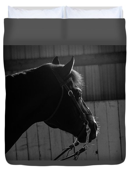 Equine Smile Duvet Cover