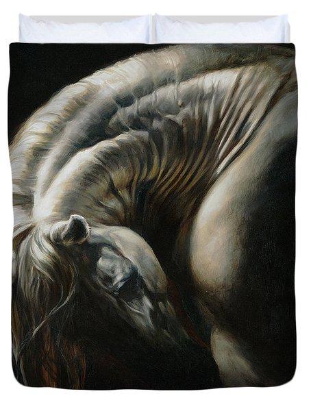 Equus Series I-i Duvet Cover