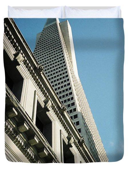 Eras, San Francisco Duvet Cover