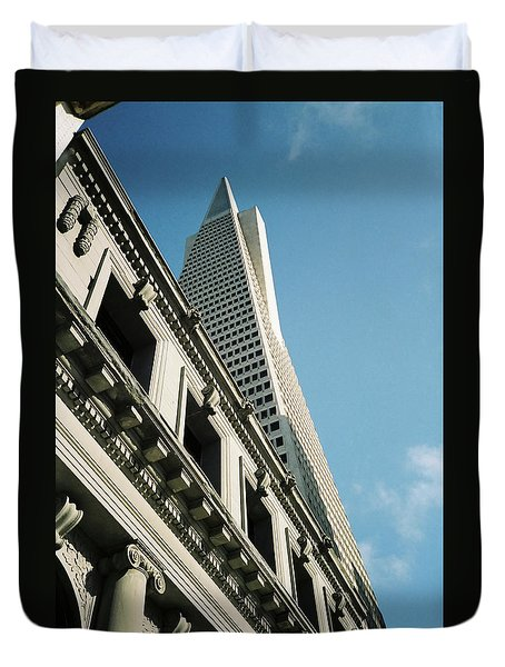 Eras, San Francisco Duvet Cover