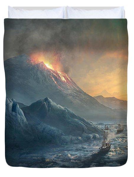 Erebus Mount Duvet Cover