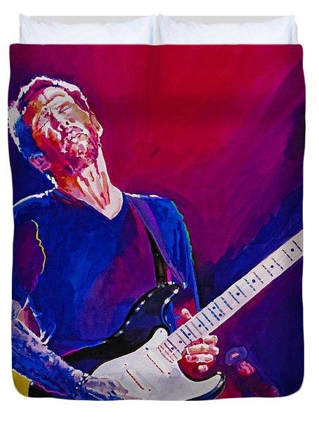 Eric Clapton - Crossroads Duvet Cover