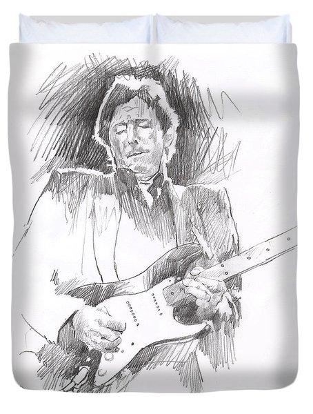 Eric Clapton Blackie Duvet Cover