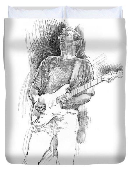 Eric Clapton Strat Duvet Cover