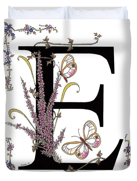 Erica And Esmeralda Butterflies Duvet Cover by Stanza Widen