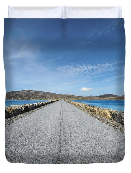 Eriskay To South Uist Duvet Cover