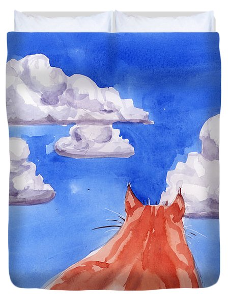 Ernesto's Dream Duvet Cover