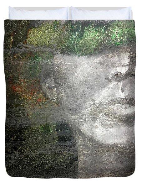 Erosion Duvet Cover