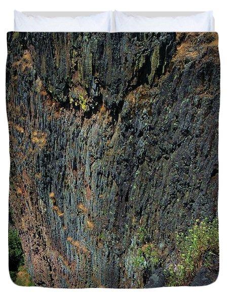 Erosion Of Flow Duvet Cover