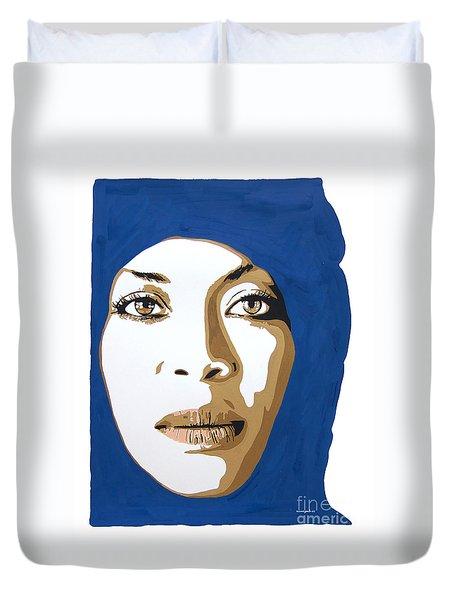 Erykah Badu. Mama's Gun. Duvet Cover