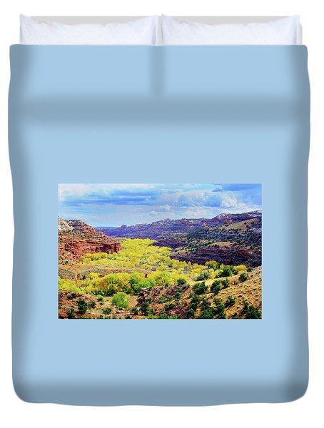 Escalante Canyon Duvet Cover