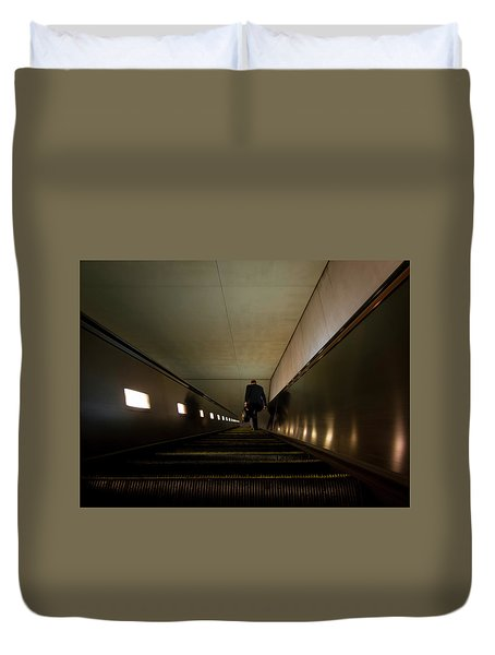 Escalation Duvet Cover