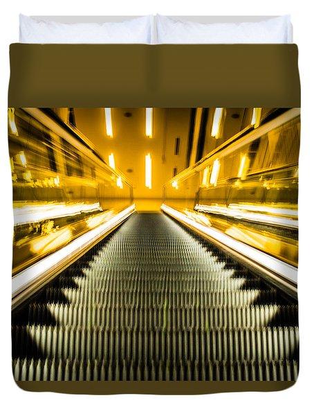 Escalator Duvet Cover