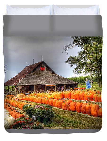 Escape To Autumn Duvet Cover