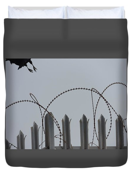 Escape To Freedom Duvet Cover
