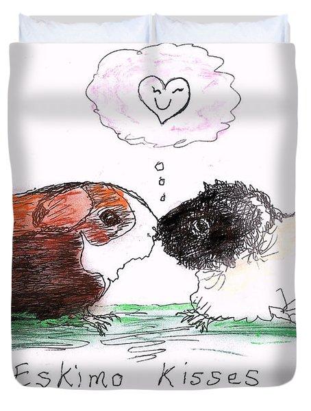 Eskimo Kisses Duvet Cover