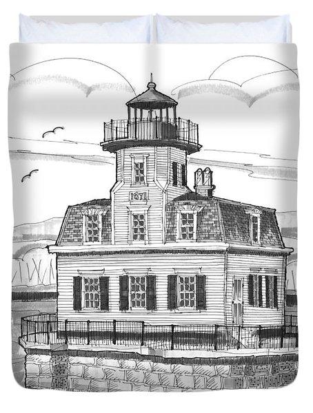 Esopus Meadows Lighthouse Duvet Cover
