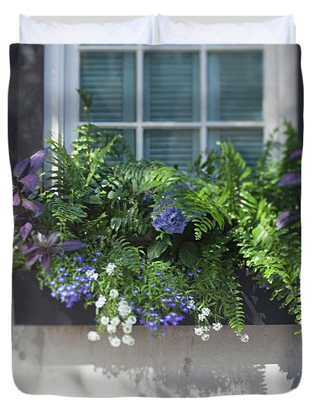 Essence Of Charleston Duvet Cover