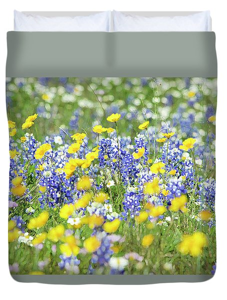 Essence Of Colors Duvet Cover