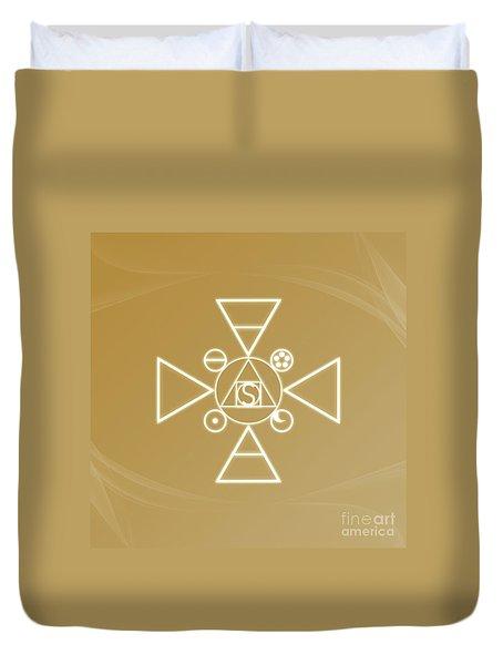 Essence Of The Spirit Duvet Cover