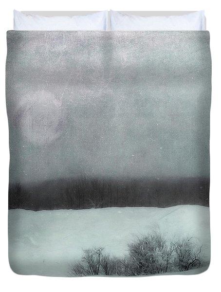 Essence Of Winter Duvet Cover