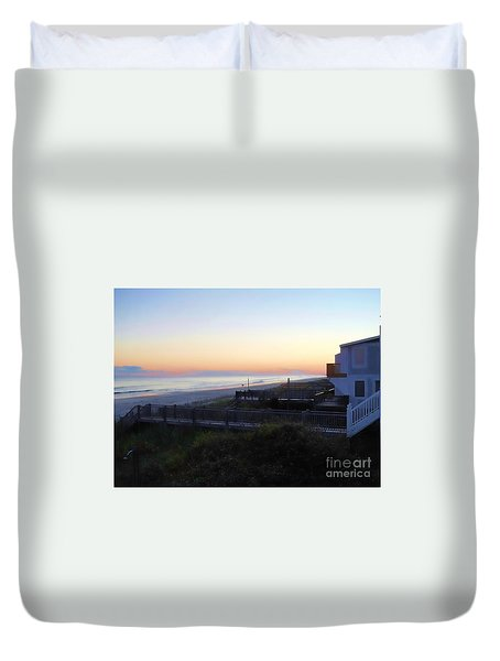 Duvet Cover featuring the photograph Essence by Roberta Byram