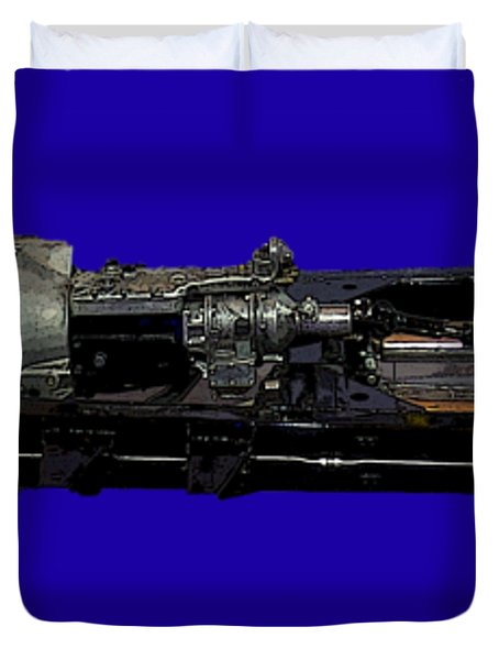 Essential Motor Art Duvet Cover