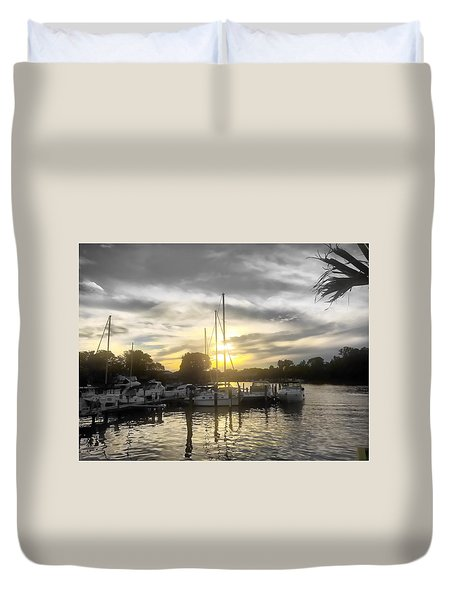 Essex Sunset Duvet Cover