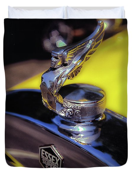 Essex Super 6 Hood Ornament Duvet Cover