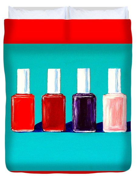 Essie Polish Duvet Cover