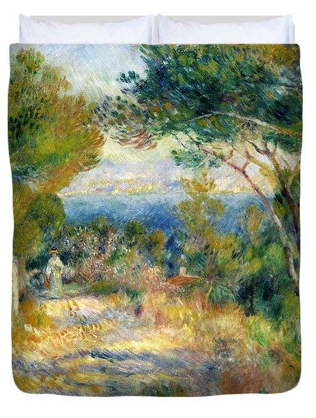 Estaque Duvet Cover by Renoir