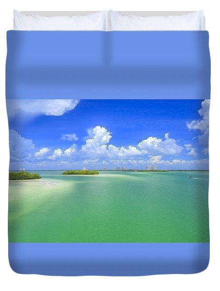 Estero Bay Duvet Cover