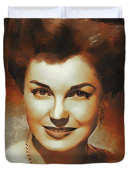 Esther Williams, Hollywood Legend Duvet Cover
