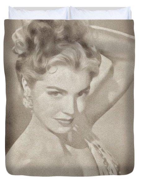 Esther Williams, Vintage Actress Duvet Cover