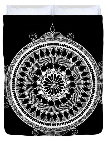 Estrella Mandala Duvet Cover