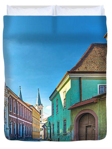 Esztergom Pastels Duvet Cover