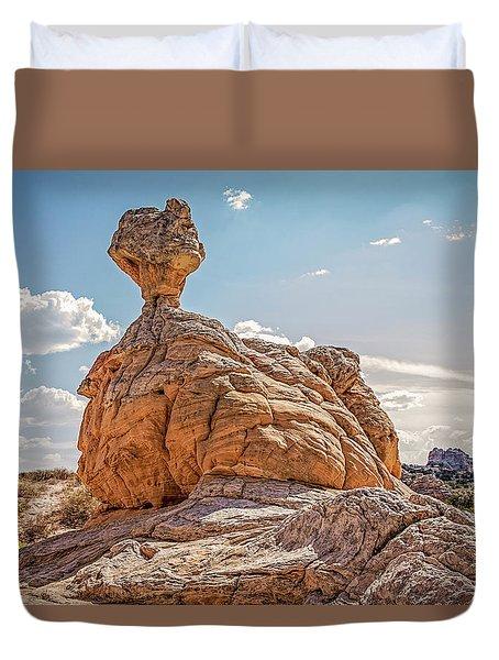 Et Rock Formation Duvet Cover