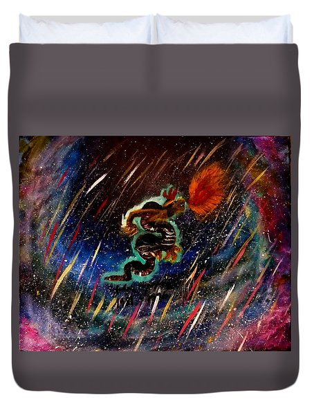 Eternal Flame  Duvet Cover