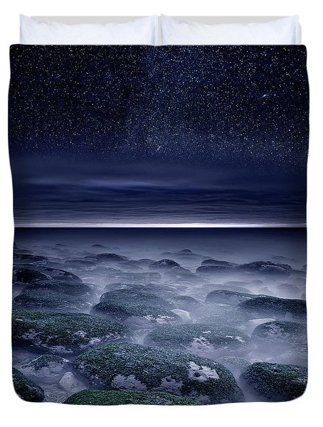 Eternal Horizon Duvet Cover by Jorge Maia