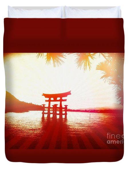 Eternal Japan Duvet Cover
