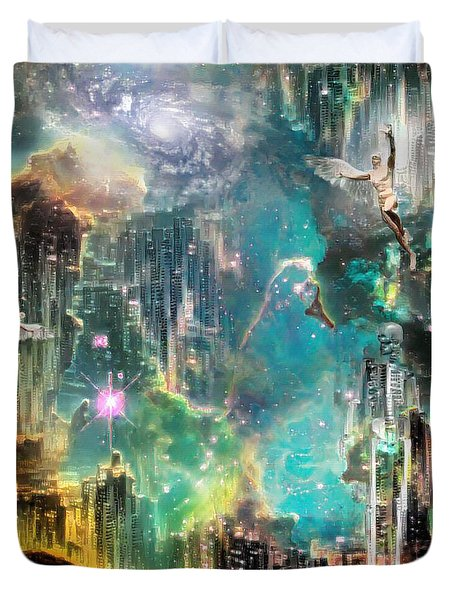 Eternal Kingdom Duvet Cover