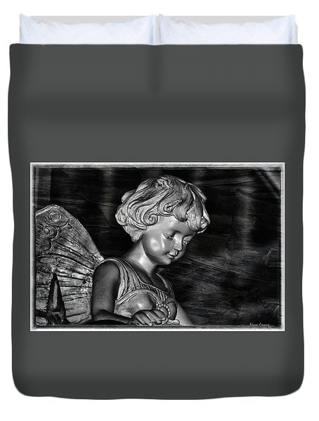 Eternal Duvet Cover by Yvonne Emerson AKA RavenSoul