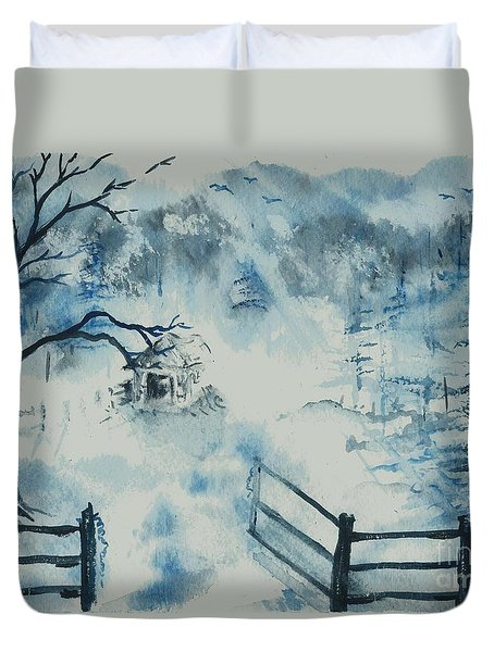 Ethereal Morning  Duvet Cover