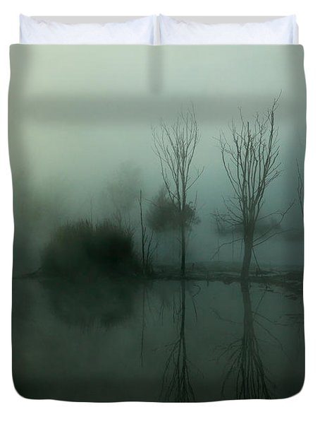 Duvet Cover featuring the photograph Ethereal by Nicholas Blackwell
