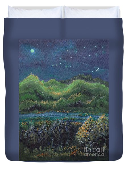 Ethereal Reality Duvet Cover